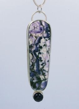 Purple Jasper Pendant by stepbrown