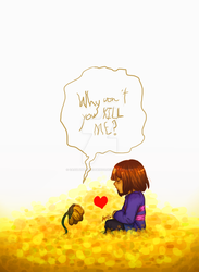 Undertale | Merciful To The End by CasslynTheHedgehog
