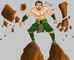 Alan The Earth Bender by Hysterio0