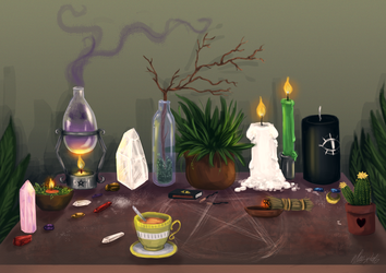 Day 2 - An Altar by iNhyx