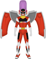 Power Rangers In Space, Red Battlized Armor by Taiko554