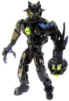 Bionicle MOC: Fuerza by LordObliviontheGreat