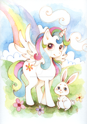 OC MLP Pegasus by dragonfly-world