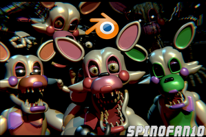 Mangle v4 Pack Release! (Now for C4D+SFM) by Spinofan10