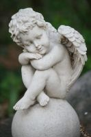 Angel Statue Stock 021 by Malleni-Stock