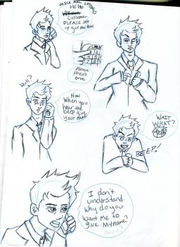 Cas and the voice mail by rhyod