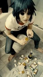 Gorillaz: Addiction by SugarBunnyCosplay