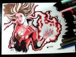 Scarlet Witch Color by Magnafires