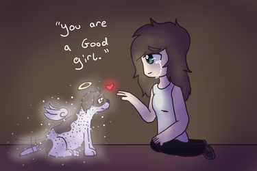 You are a good girl by TheSilentSnowflake