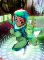 Space Suiit by The-Nai