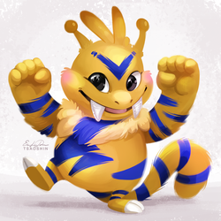 125 - Electabuzz by TsaoShin