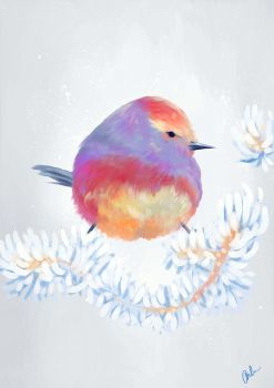 Small Bird Study by TheAncientMasteress