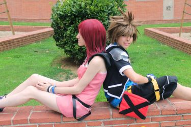 KH II - Two hearts become one by AriB-Rabbit