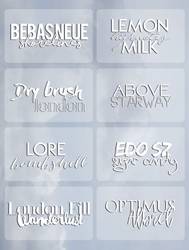 Fonts05 By Elysian by tzxico