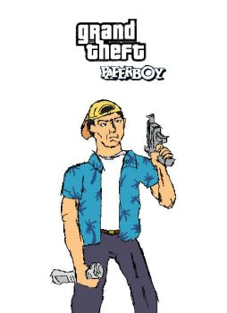 Tommy the Paperboy by freakin-socrates