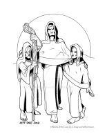 The Norns by JeffDee