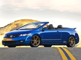 Honda Civic SI Convertible by MONTCH