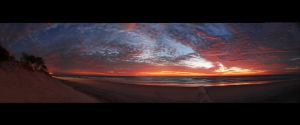Sunrise at the Gold Coast by Chacalxxx