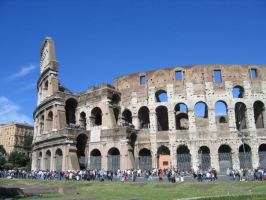 Rome: the Colloseum by dnbarman