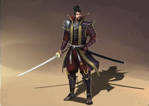 Samurai design by FruitPunchSamurai13