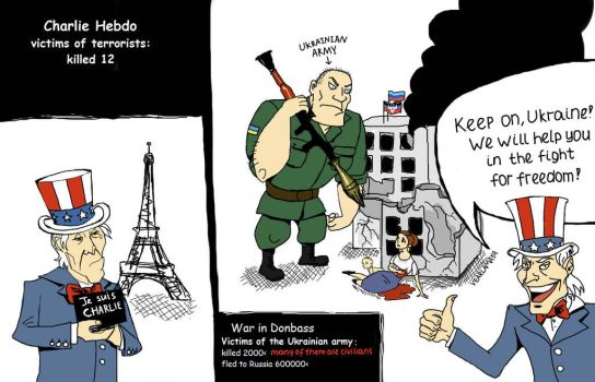 Je suis Donbass by Vearlamaya