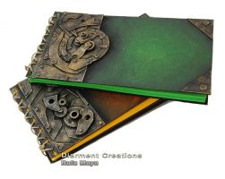 Steampunk Notebook series IV by Diarment