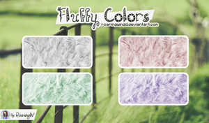 Patterns Fluffy Colors by RoaringWindd
