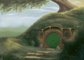 Bag End by Wictorian-Art
