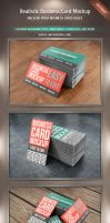 Realistic Business Card Mockup by kotulsky