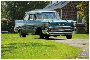 A 1957 Chevy by TheMan268