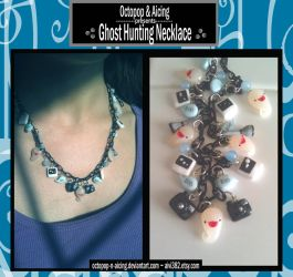 Ghost-Hunting Charm Necklace by Octopop-n-Aicing