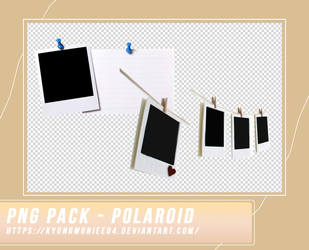 PNG PACK - POLAROID BY KWNIEE by kyungwoniee04