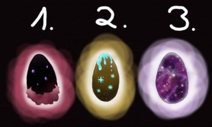 Dragon egg Adotps all open by Chybelle