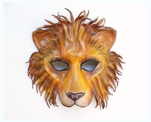 Leather Lion Mask as seen on Pretty Little Liars by teonova
