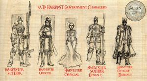 Fate-Harvest-Characters by MarkCDudley