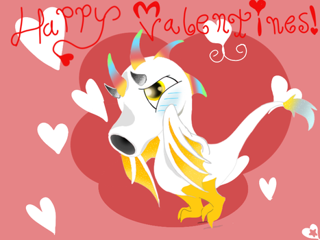 Have A Tootiful Valentines by superdragon911