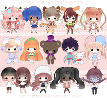 candy chibis | #5 by rinihimme