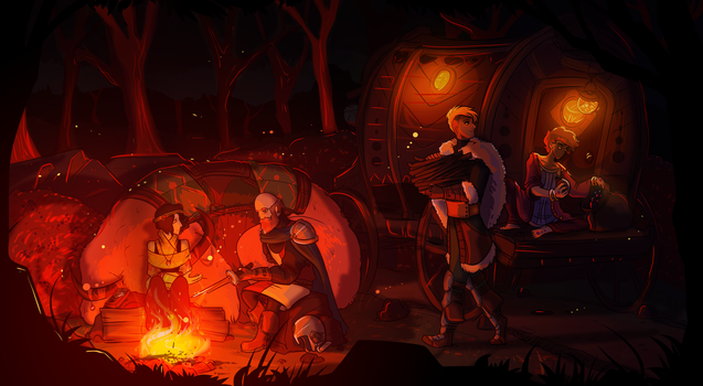 A Stop In The Woods by SamDeSamD