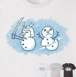 Snow Samurai - tee by InfinityWave