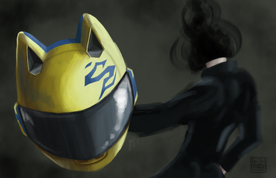 Celty Sturluson (DRRR!) by Sylphrit