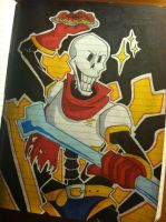 Undertale - Papyrus by HugaDuck