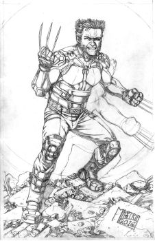 Dofp Wolverine Pencil by AntonioMastria