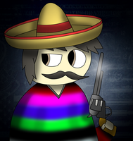 generic payday Mexican heister by Charly-sparks