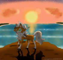 Lycanroc Dusk by ZigZagGhost