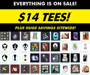 Teepublic Sale! $14 Tshirts and more! 16-20th by Temrin