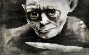 The tears of Smeagol by The-girl-in-Mirkwood