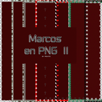 Marcos en PNG II [Borders] by ImagineThousanDreams