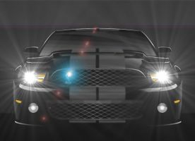 Shelby GT500 by CynderxNero
