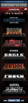 Free Photoshop Styles for Cool Text Effects by MGraphicDesign