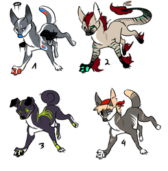Canine Adopts 1 (OPEN) by Toxist